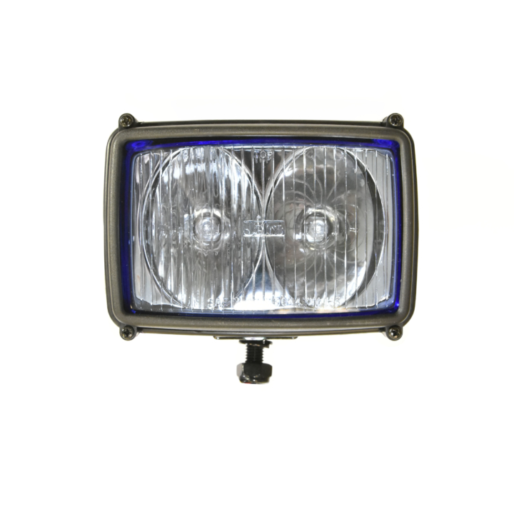 "123-33044-4 <BR />4""x 6"" Dual Halogen Auxiliary Driving Light"