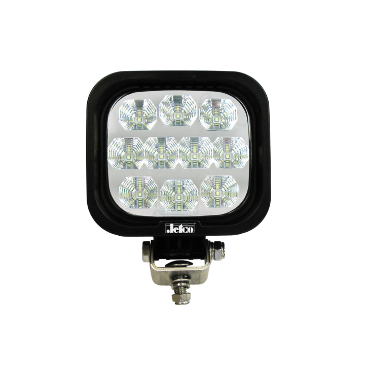 "123-81008F-8 – 4"" Square L.E.D. Work Light  4"" – Flood"
