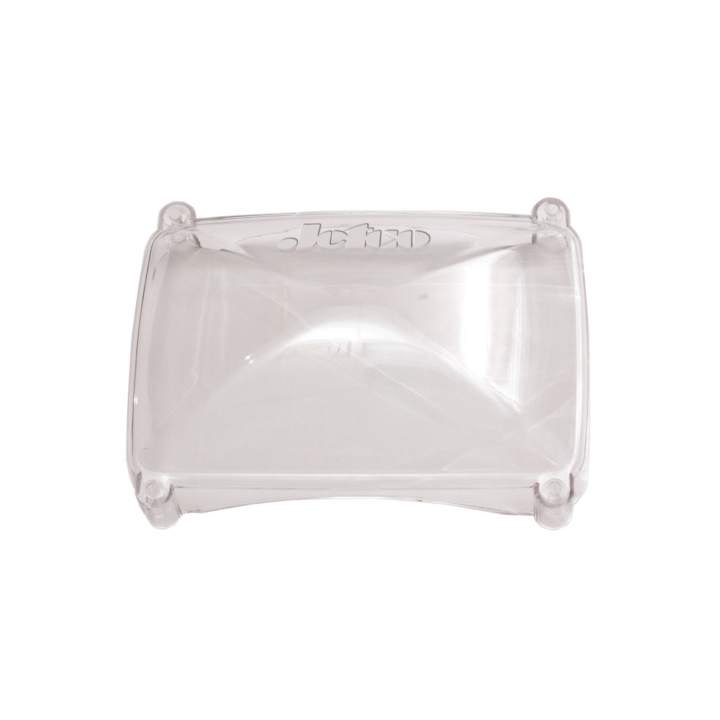 "123-CDC33088 <BR />4″x6″ Clear Polycarbonate ""Winter Shield"" Cover for Dual Halogen Lights"