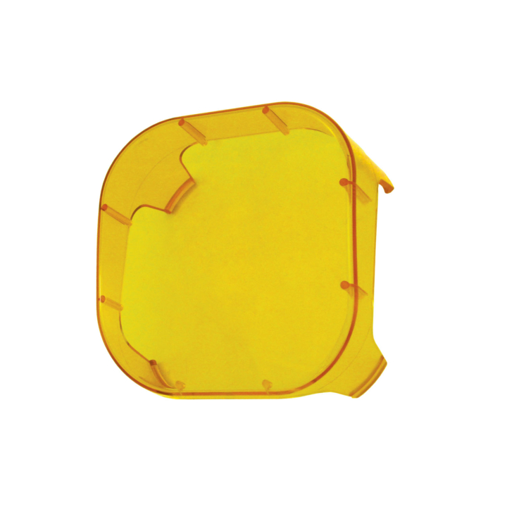 123-CDC95000A <BR />Amber Polycarbonate Cover for 123-LED95000 Series