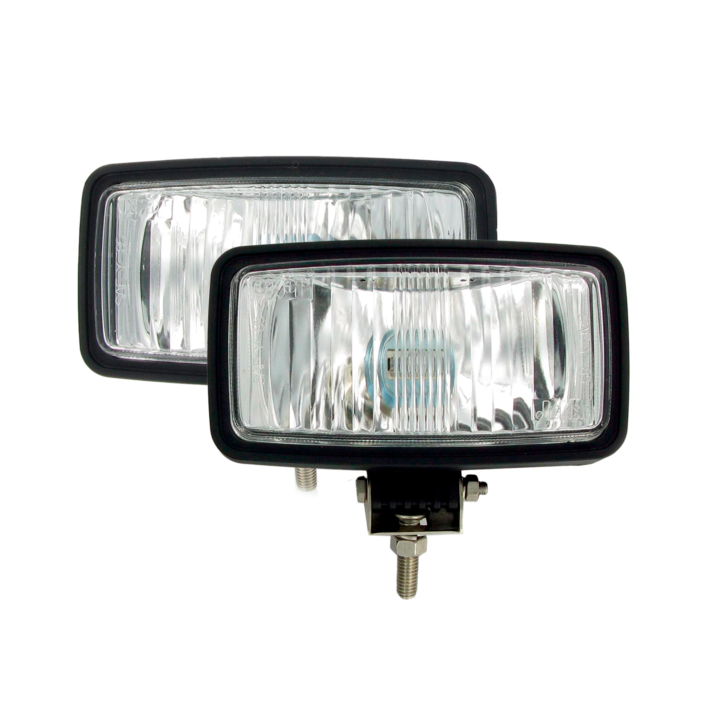 "123-S33525<BR />3.5""× 6.5"" Halogen ""Arctic Vision®"" Driving  Light Kit"