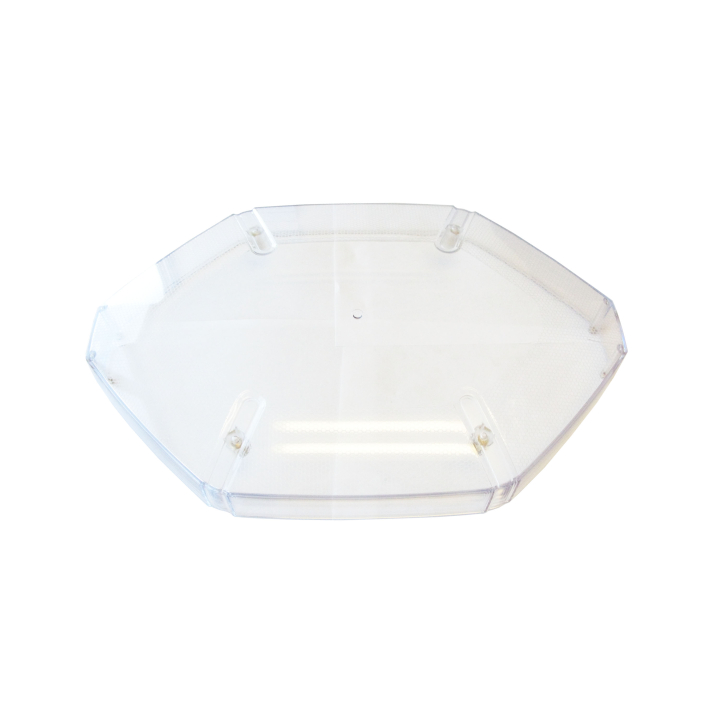 126-L67080CL <BR /> Clear Replacement Lens For 126-67080 Series Strobe