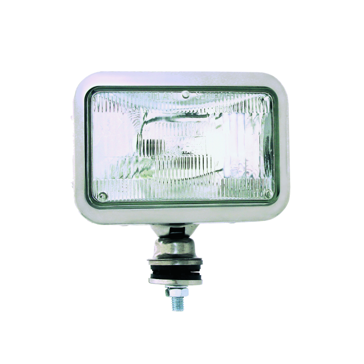 "128-57H4651SS <BR /> 5""× 7""  Halogen High Beam in Stainless Steel Housing"