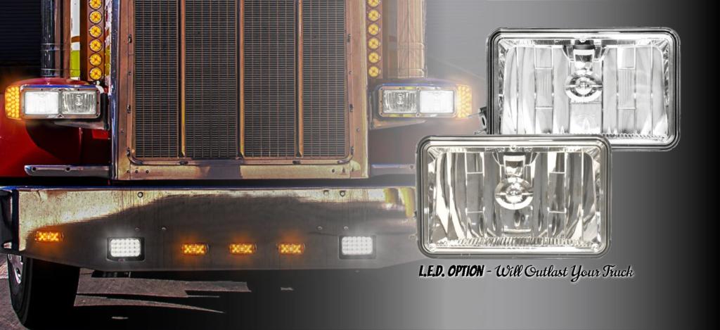 DOT Street-Legal L.E.D. Driving Headlight