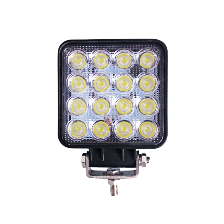 300-3161F <BR /> 4″ Square L.E.D. Flood Work Light