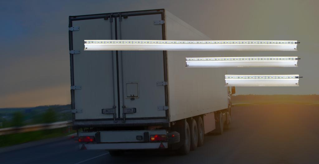 Heavy Duty Interior L.E.D Light Bars