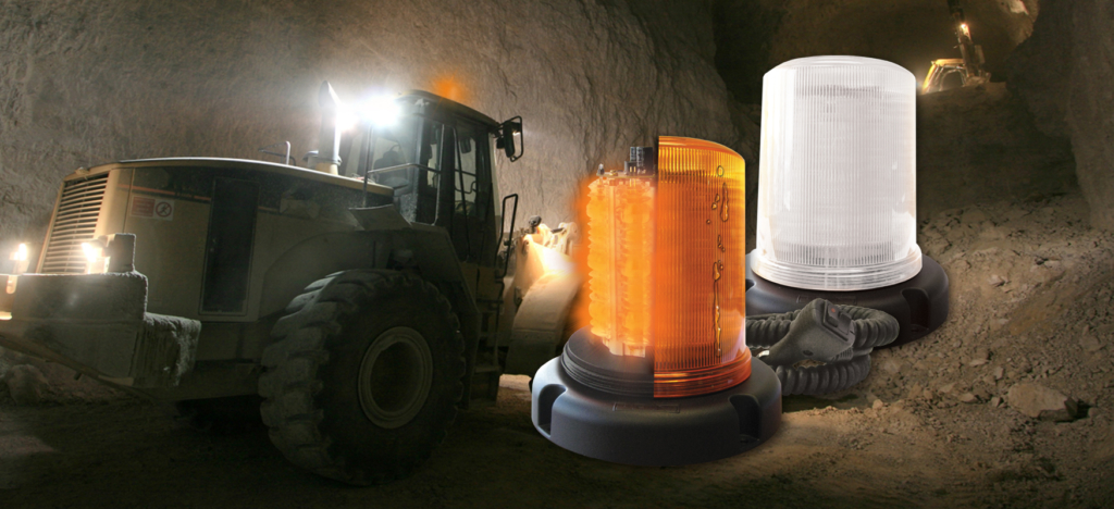 Heavy Duty L.E.D. Warning Strobe Beacon