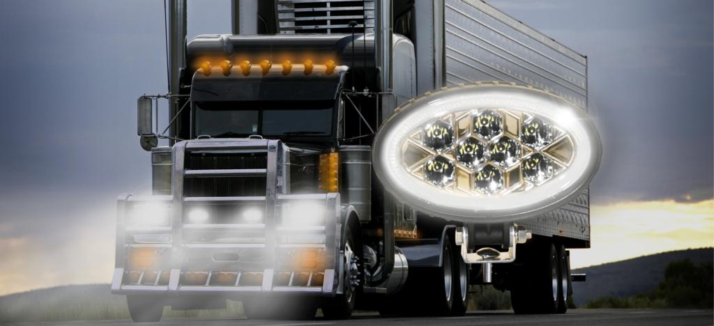 DOT Street-Legal L.E.D. Driving Auxiliary Light