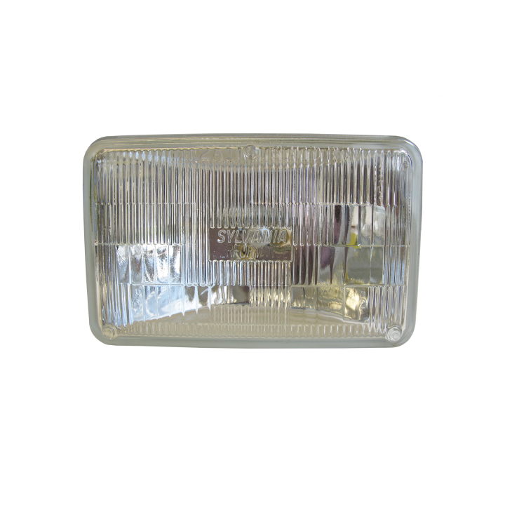 120-H4656 <BR />100mm × 165mm Halogen Sealed Beam (Headlight-Low Beam)