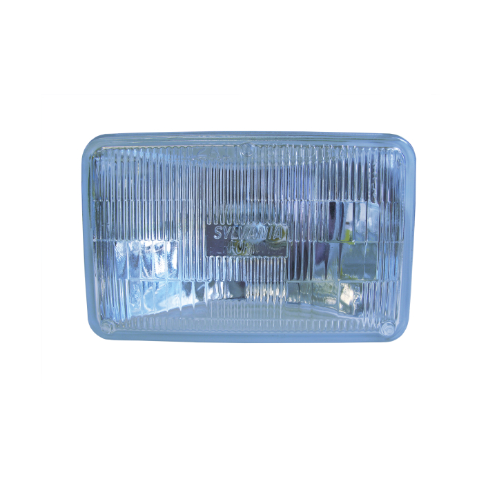 120-H4656XV-HO <BR />100mm × 165mm Halogen Sealed Beam (Headlight-Low Beam)