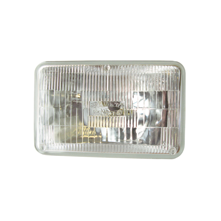 120-H4666ST <BR />100mm × 165mm Halogen Sealed Beam  (Headlight-High/Low Beam) – Silver Star®