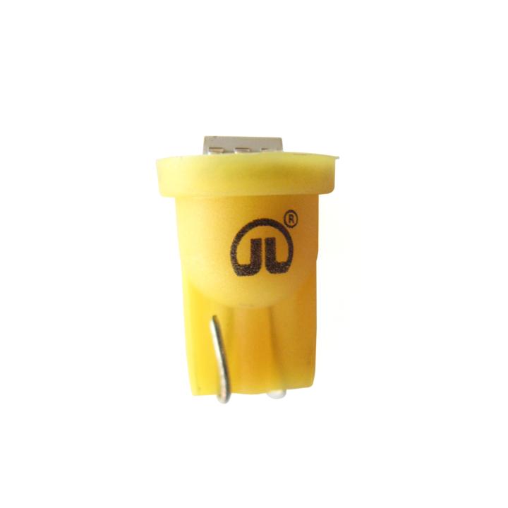 121-LED194A-1 <BR />L.E.D. #194 Amber Miniature Bulb