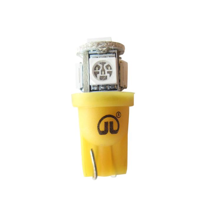 121-LED194AXV <BR />L.E.D. #194 Amber Miniature Bulb