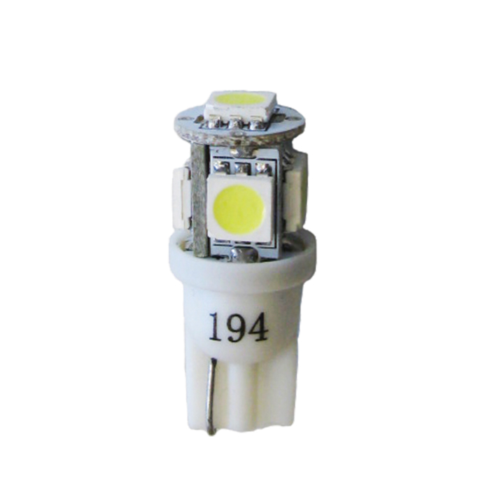 121-LED194WXV<BR />L.E.D. #194 White Miniature Bulb