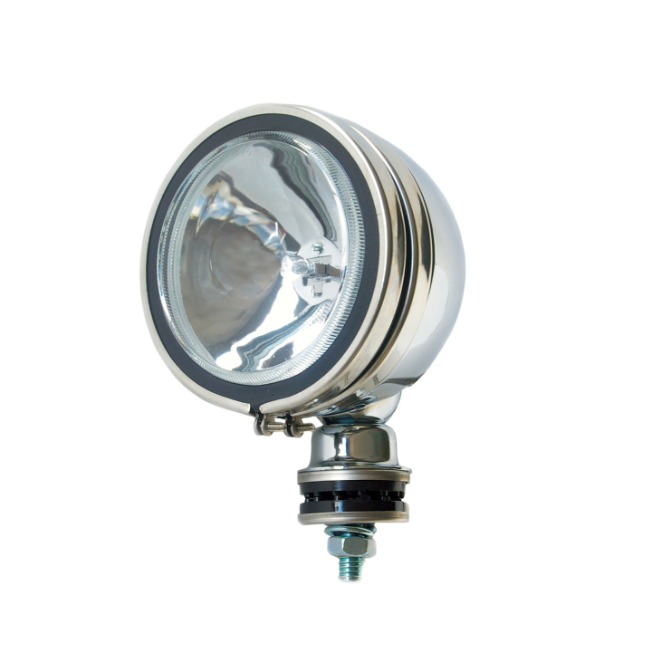 "123-3001SS<BR />5"" Round Light in Metal Housing – S/Steel"