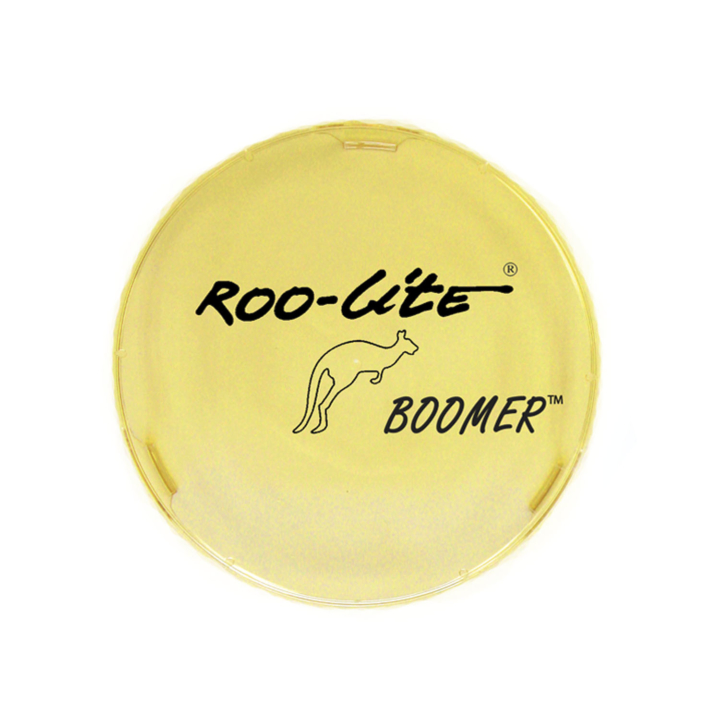 "123-C89000A<BR />9″ Amber ""Boomer"" Roo-Lite® Lens Protector"