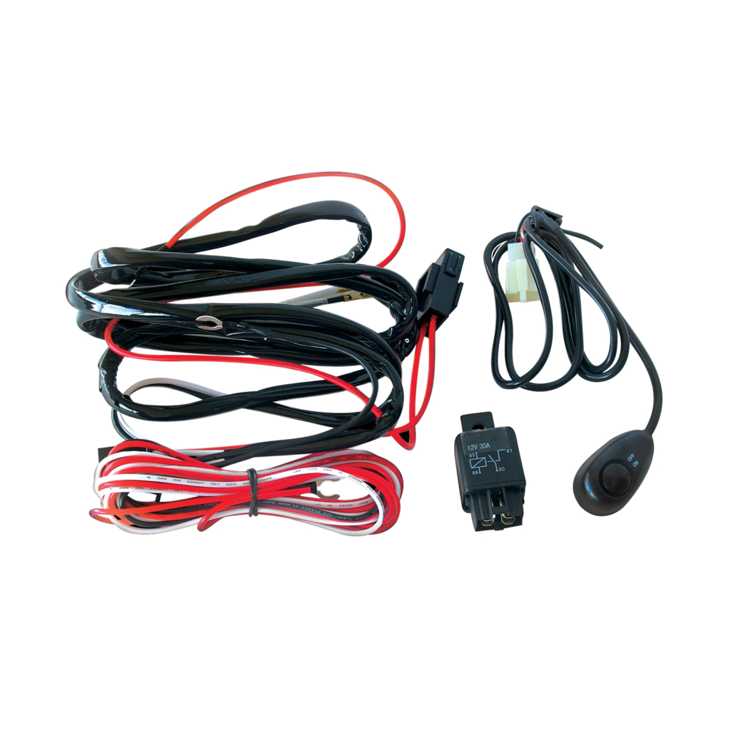 123 Ktd007 High Powered Digital Wiring Harness Kit Jetco Switches Plugs