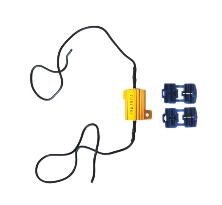 117-RL50W6 <BR />In-line Load Resistor Kit for L.E.D. Bulbs