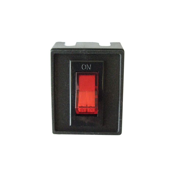 123-SW0001 <BR />Illuminated Rocker Switch