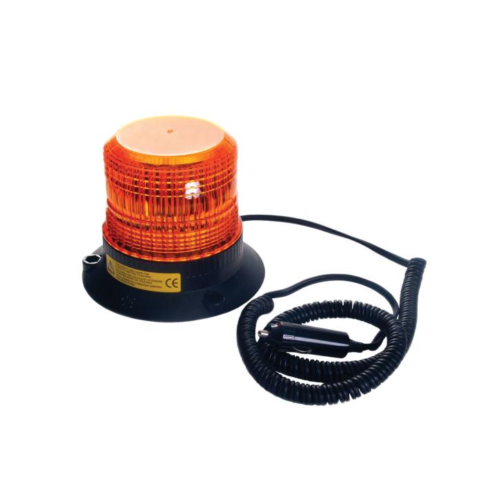 "126-LED150MA <BR /> 4.5"" L.D. L.E.D. Amber Strobe – Magnetic"
