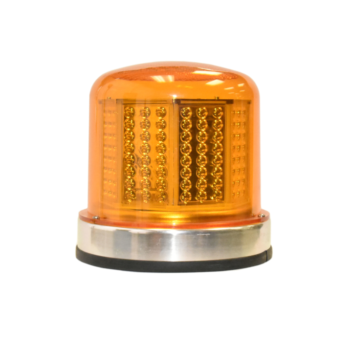 "126-67024A <BR />8"" H.D. L.E.D. Amber Warning Beacon Strobe"
