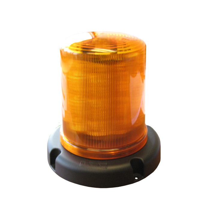 "126-67033A-8 <BR />7.5"" L.E.D. Amber Warning Beacon Strobe"