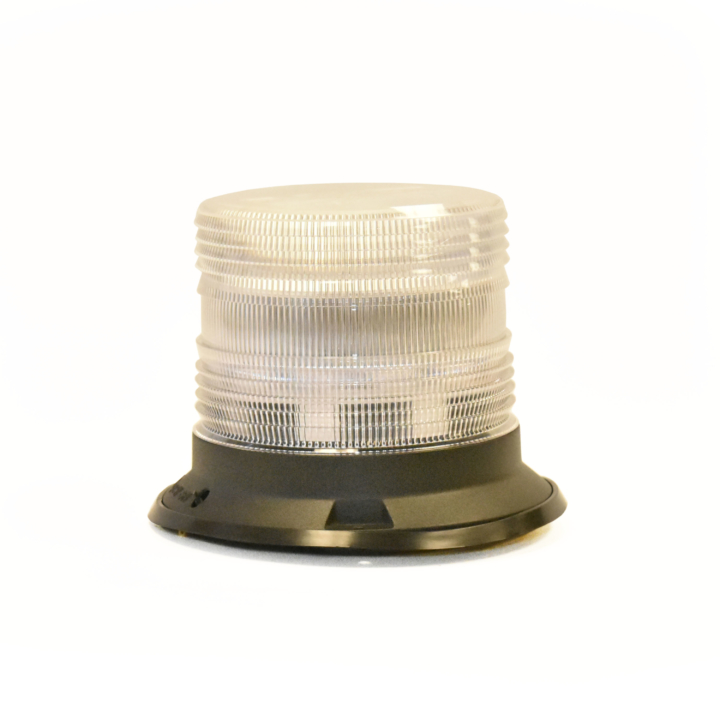 "126-67089ACL-8 <BR />5"" H.D. L.E.D. Amber Clear Warning Beacon Strobe"