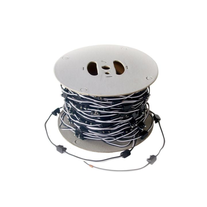 119-9122B <BR />2-Prong Plug (Right Angle)  Bulk Roll (100') – 6″ Spacing