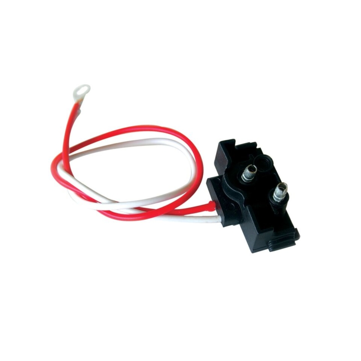 126-9123 <BR />Two Wire Right-angle 2-Prong Plug