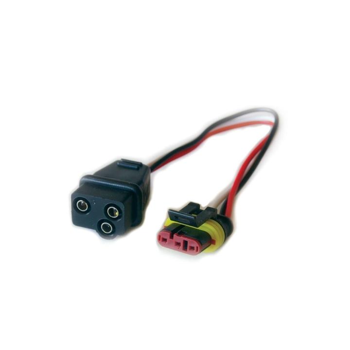 119-9476 <BR />Weatherproof 3-Prong Plug Adapter – Adapter