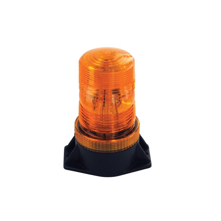 "126-LED67081A-8 <BR />4.5""x 2.5"" H.D. Amber L.E.D. Fork Lift Strobe"