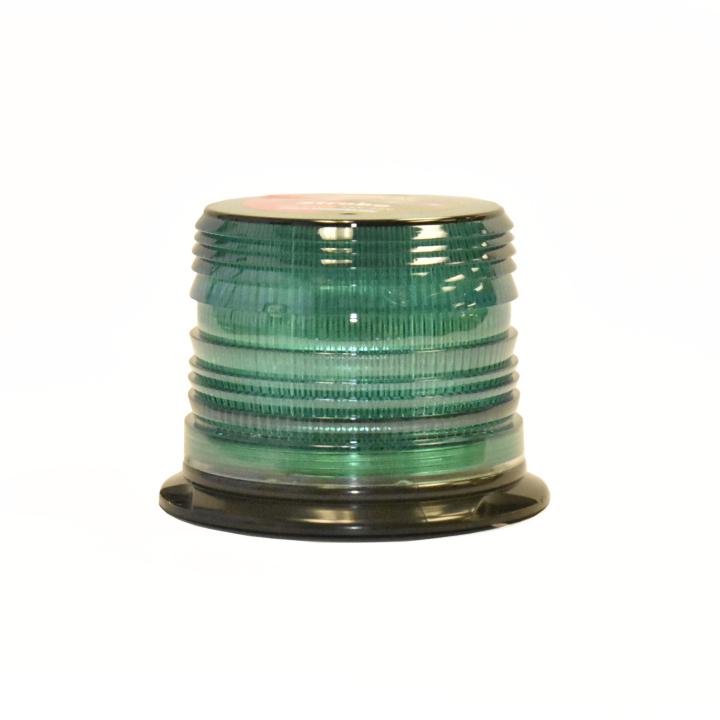 """126-LED67412G <BR /> 5"""" L.D. L.E.D. Green Strobe"""