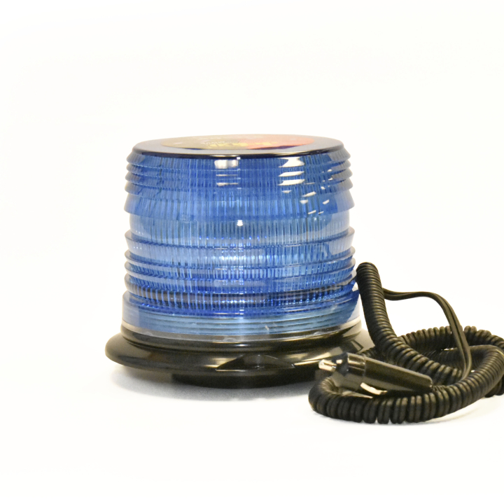 "126-LED67412MB <BR /> 5"" L.D. L.E.D. Blue Strobe – Magnetic"