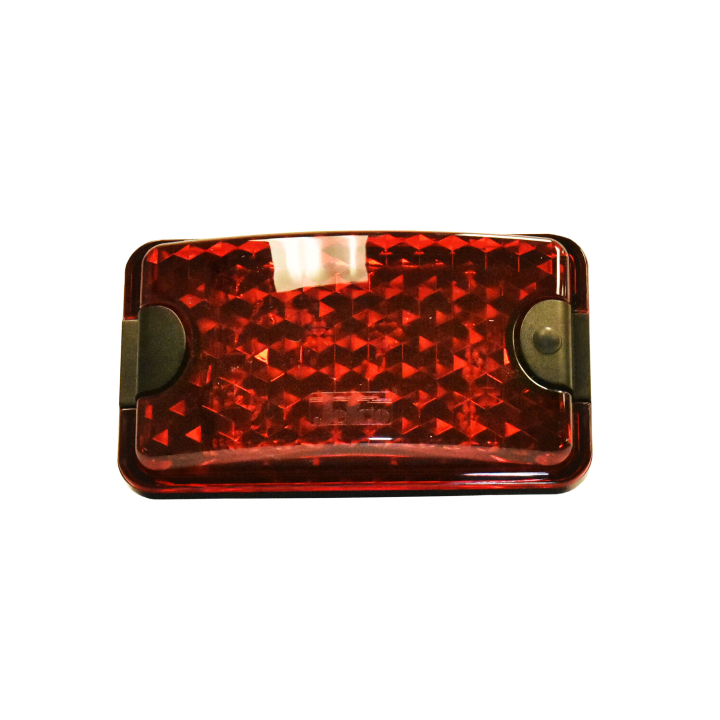 "127-66055RMB <BR /> 3.5"" x 6"" Red L.E.D. ""Load-lite"" &#8211; Magnetic"