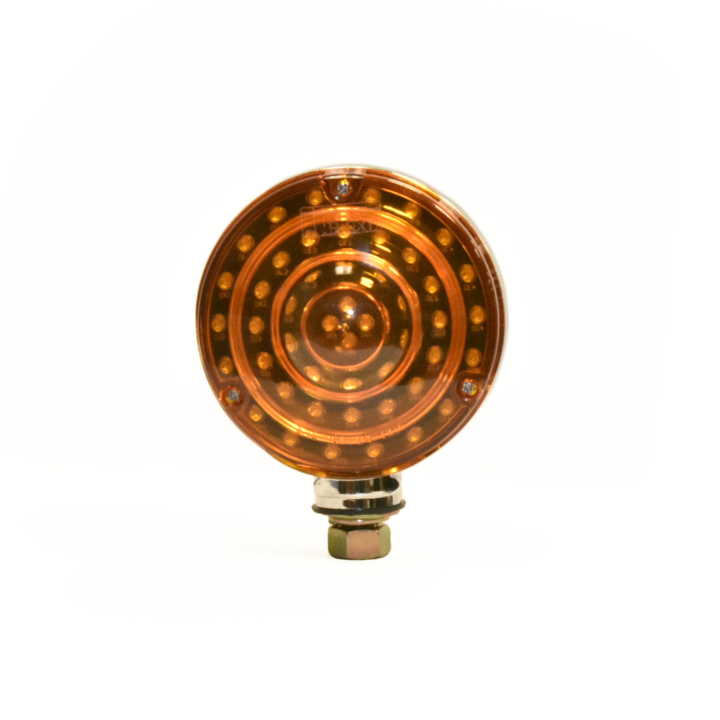 "127-66070-4 <BR /> 4"" Round ""Maximum CountTM"" Dual-faced L.E.D. S/T/T Pedestal Lamp"