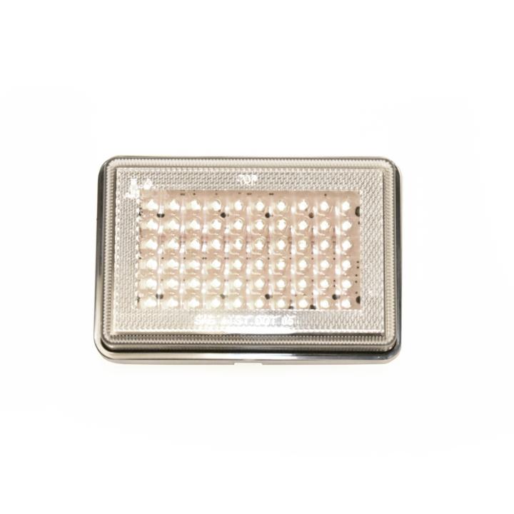 "127-66077W-4 <BR /> 3""x 5"" Rectangular Reflectorized L.E.D. S/T/T Sealed Lamp – White"