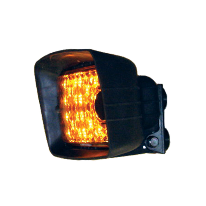 "128-504L55AMB <BR /> 4.5""x 6.75"" L.E.D. Amber ""Wide-Load"" Light – Magnetic"