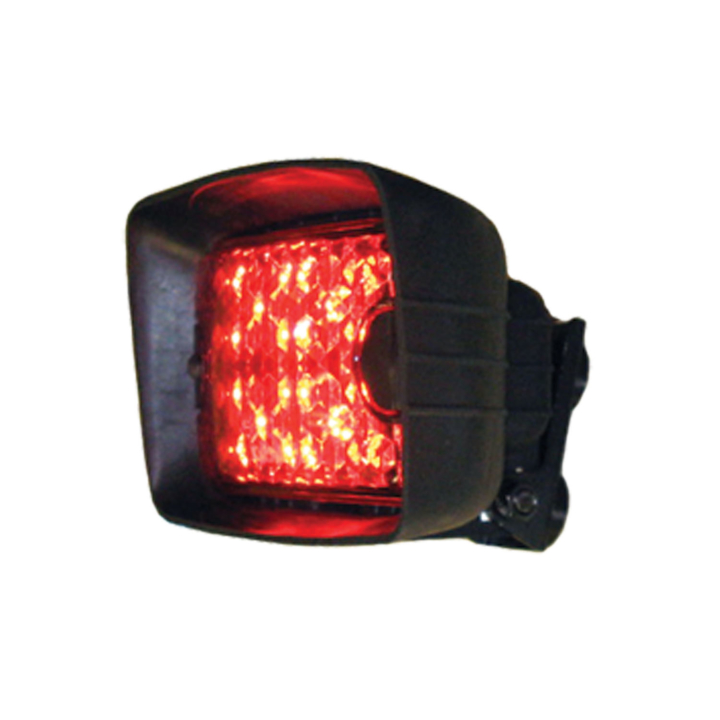 "128-504L55MB <BR /> 4.5""x 6.75"" L.E.D. Red ""Wide-Load"" Light &#8211; Magnetic"