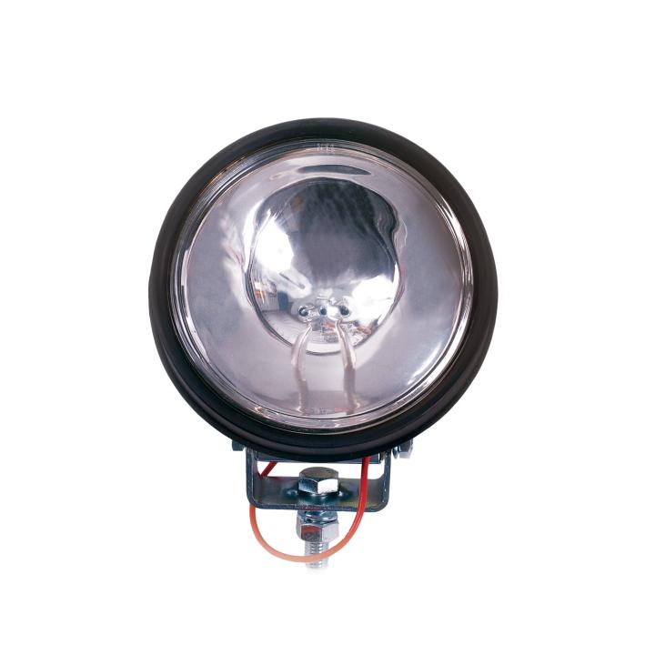 """128-350506 <BR /> 6"""" Round Long-range Spot Light in Rubber Housing"""