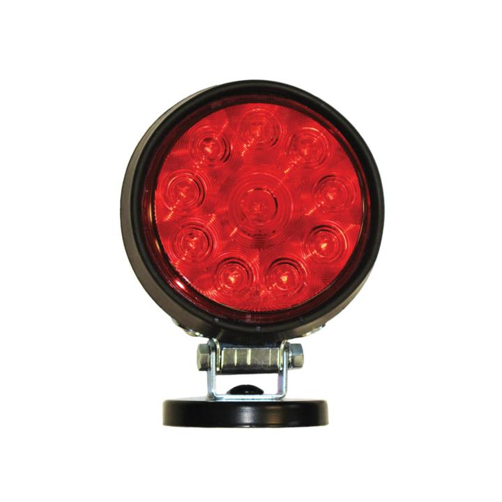 """128-MB5040010R <BR /> 5"""" (Par 36) L.E.D. Red Tow Light – Magnetic"""
