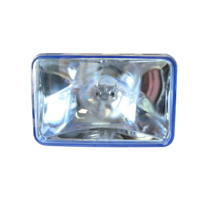 130-H7935-H3 <BR /> 100mm × 165mm Halogen Semi- Sealed Sealed Beam w/ Replaceable H3 Bulb (Spot)