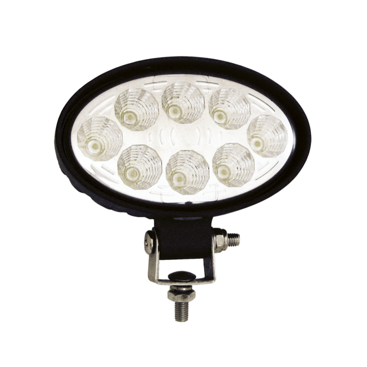 "300-382F <BR /> 3.5"" x 5.5"" Oval L.E.D. Work Light – Flood"