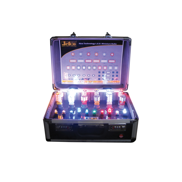 900-LEDMB-CASE <BR /> L.E.D. Miniature Bulb Demonstration Kit