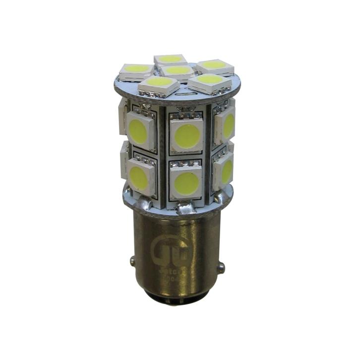 121-LED1004 <BR />L.E.D. #1004 White Miniature Bulb