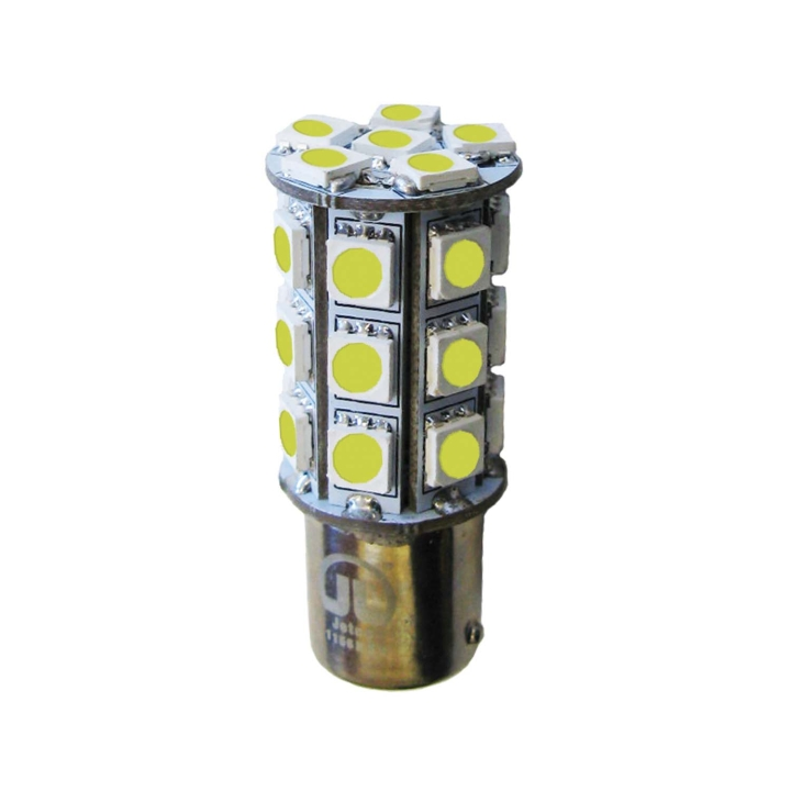 121-LED1156WXV<BR />L.E.D. #1156 White Miniature Bulb