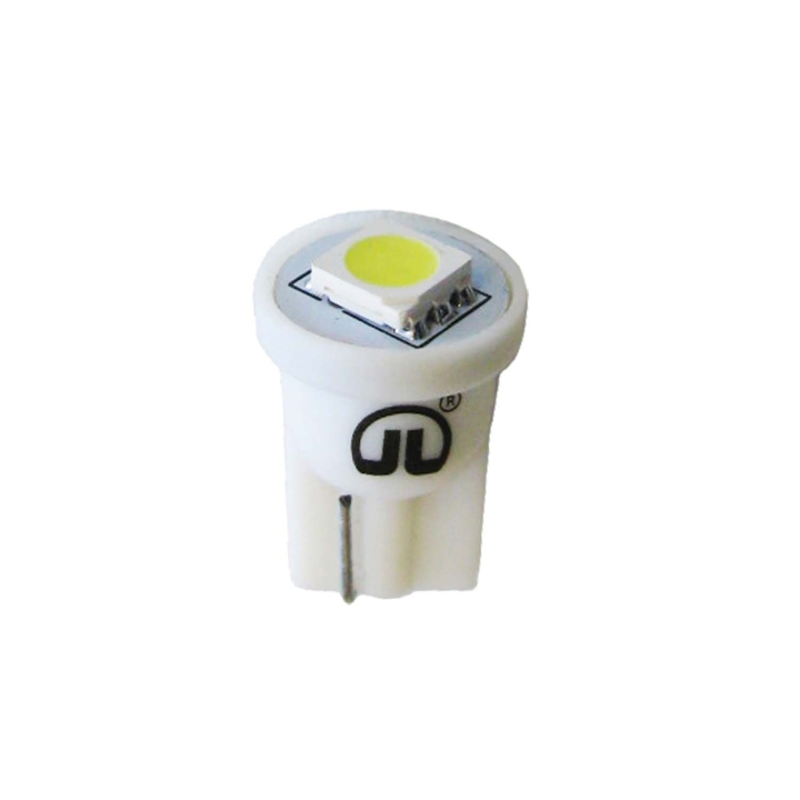 121-LED194W-1<BR />L.E.D. #194 White Miniature Bulb