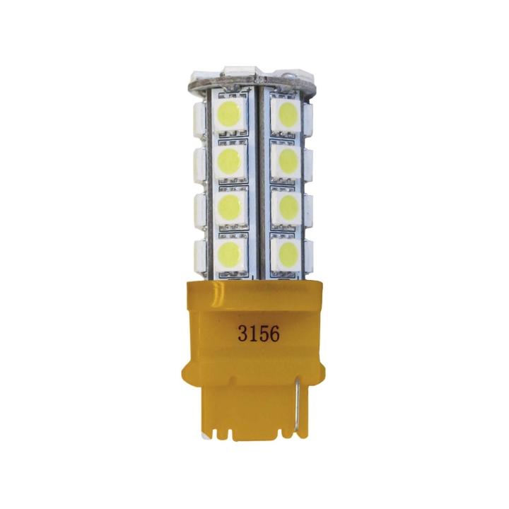 121-LED3156AXV <BR />L.E.D. #3156 Amber Miniature Bulb