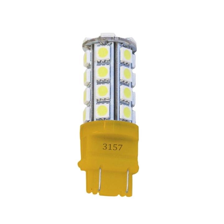 121-LED3157AXV <BR />L.E.D. #3157 Amber Miniature Bulb