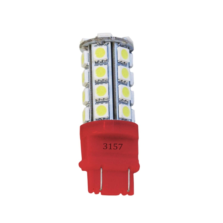 121-LED3157RXV<BR />L.E.D. #3157 Red Miniature Bulb