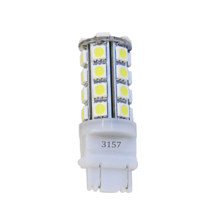 121-LED3157WXV<BR />L.E.D. #3157 White Miniature Bulb